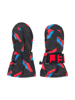 Stella McCartney Kids лыжные варежки с принтом 601434SPK39