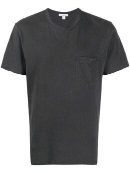 James Perse футболка с карманом MLJ3282