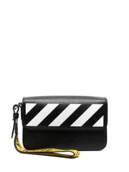 Off-White Diag-print clutch OMNM004R21LEA0011001
