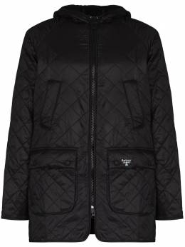 Barbour стеганая куртка Beacon Bedale на молнии MQU1248BK11