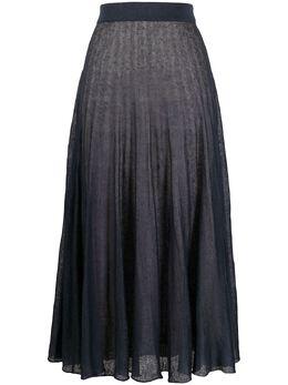 Agnona юбка миди тонкой вязки KG010200D180C