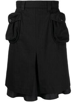 Sunnei юбка в стиле милитари WK07ACTE812999
