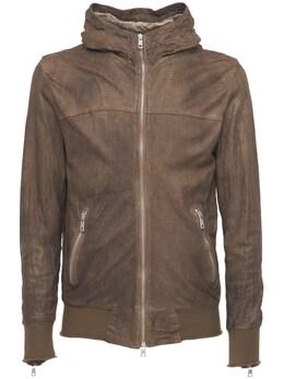 Куртка Из Кожи На Молнии Giorgio Brato 73I0AQ003-UEFMTQ2