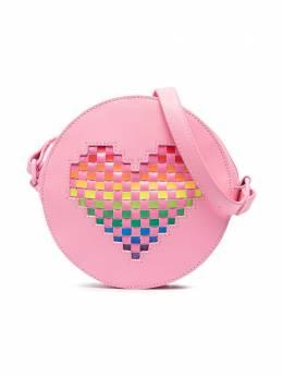 Stella McCartney Kids сумка на плечо с аппликацией 602677SQD21