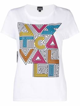 Just Cavalli футболка с графичным принтом и логотипом S02GC0422N20663