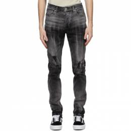 Ksubi Grey Chitch Smoke Out Jeans 5000005912