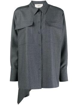 Ports 1961 рубашка с нагрудными карманами PW419HLS58FWOU631