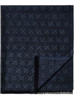 Ermenegildo Zegna шарф с вышитым логотипом Z9L5029B