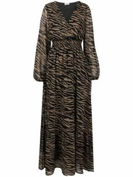 Liu Jo платье с зебровым принтом и заклепками WF0194T0110