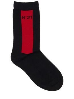 Носки Из Хлопка No. 21 73ILWX009-ME45MDA1