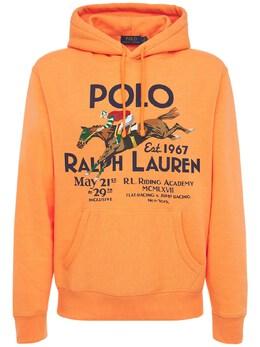 Худи Из Смешанного Хлопка Polo Ralph Lauren 73I7Q4012-MDAx0