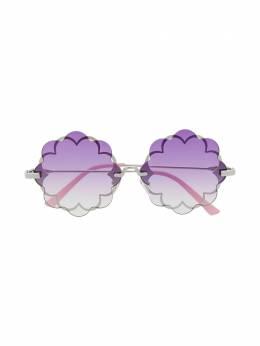 Monnalisa солнцезащитные очки в круглой оправе 9970307082