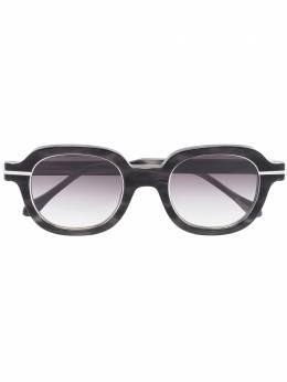 Matsuda солнцезащитные очки в круглой оправе M2051BKSBSSG