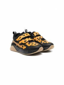 Stella McCartney Kids кроссовки с леопардовым принтом 602693SQD13