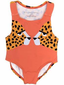 Stella McCartney Kids купальник с леопардовым принтом 602567SQK63