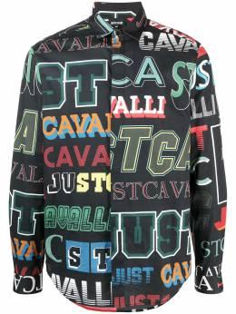 Just Cavalli рубашка на пуговицах с логотипом S01DL0315N39645