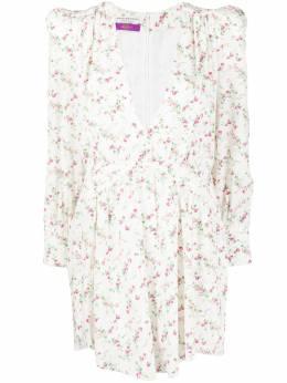 Philosophy Di Lorenzo Serafini расклешенное платье с цветочным принтом A04587151