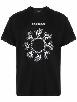 Domrebel футболка с принтом SPINBOXT
