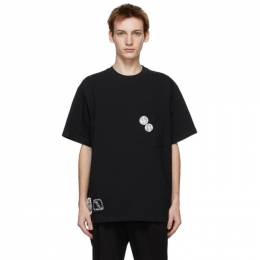 Song For The Mute Black Cat Patch Pocket T-Shirt 211_MTS035P3_ROOTBLK