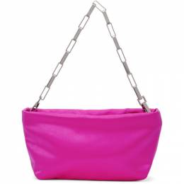 The Attico Pink Mini Wynona Pouch Bag 211WAH24 - V007 - 008
