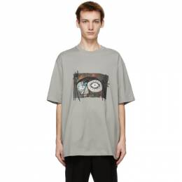 Song For The Mute Grey Oversized Monster T-Shirt 211_MTS018P7_DRPEELE