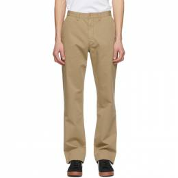 Polo Ralph Lauren Tan Classic Chino Trousers 710653408026