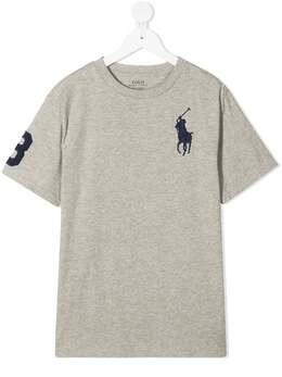 Ralph Lauren Kids футболка с принтом 323832907