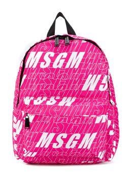 MSGM Kids рюкзак с логотипом 025235