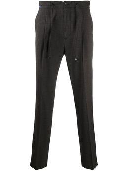 Corneliani брюки прямого кроя с эластичным поясом 864L800816506