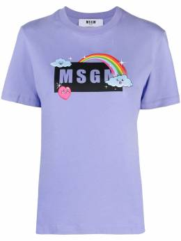 MSGM футболка с логотипом 3041MDM169217298