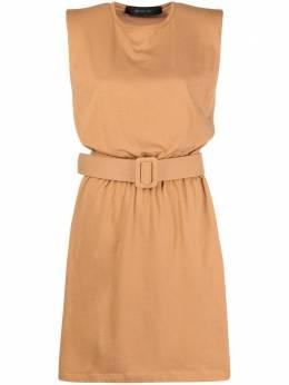 Federica Tosi платье из джерси с поясом FTE21AB0040JE0081