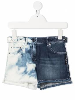 Givenchy Kids джинсовые шорты с принтом тай-дай H14116