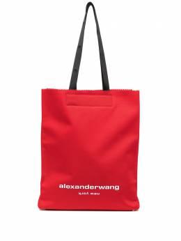 Alexander Wang сумка-тоут Lunch с логотипом 20121T53T