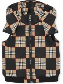 Burberry Kids куртка-пуховик 8032749