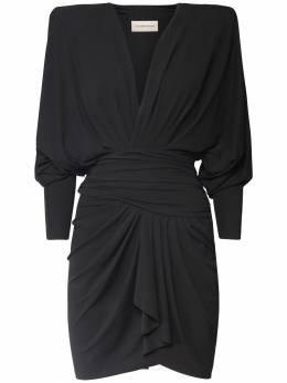 Платье Из Вискозы Стрейч Alexandre Vauthier 73I5K0061-QkxBQ0s1