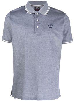 Paul & Shark рубашка поло с вышитым логотипом A20P1744
