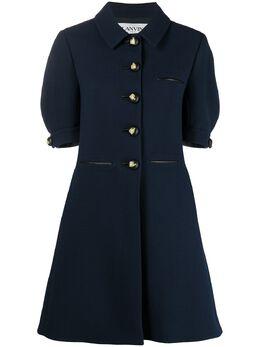 Lanvin платье-рубашка с пышными рукавами RWDR356U4793P21