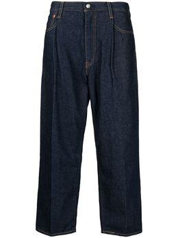 Levi's широкие джинсы со складками 39957