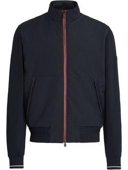 Z Zegna куртка на молнии с контрастной окантовкой VW498ZZT805