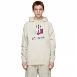 Isabel Marant Off-White Embroidered Miley Hoodie 21PSW0055-21P030H