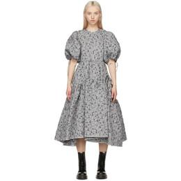 Cecilie Bahnsen SSENSE Exclusive Silver Libby Dress SSE20-0006