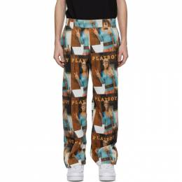 Soulland Multicolor Playboy Edition Corduroy Fawna Trousers 1187-1122