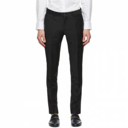 Tiger Of Sweden Black Terriss Tuxedo Trousers T29233201N