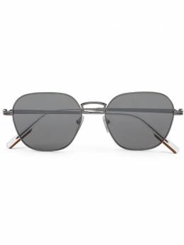 Ermenegildo Zegna солнцезащитные очки в квадратной оправе EZ01745308A