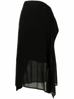Y's полупрозрачная юбка А-силуэта YTS06226