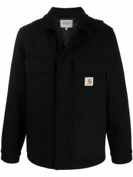 Carhartt Wip куртка-рубашка с нашивкой-логотипом I02812403