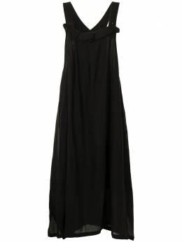 Y's платье-фартук с оборками YTD08226