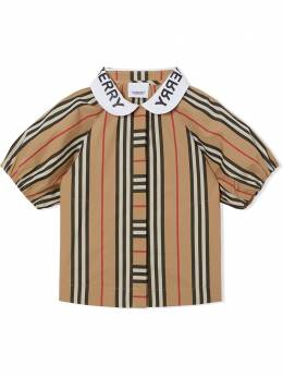 Burberry Kids блузка в клетку Vintage Check 8030579
