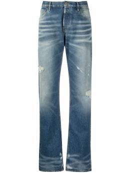 The Attico прямые джинсы с завышенной талией 211WCP12D014