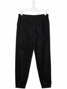 Emporio Armani Kids спортивные брюки прямого кроя 3K4P081NWWZ